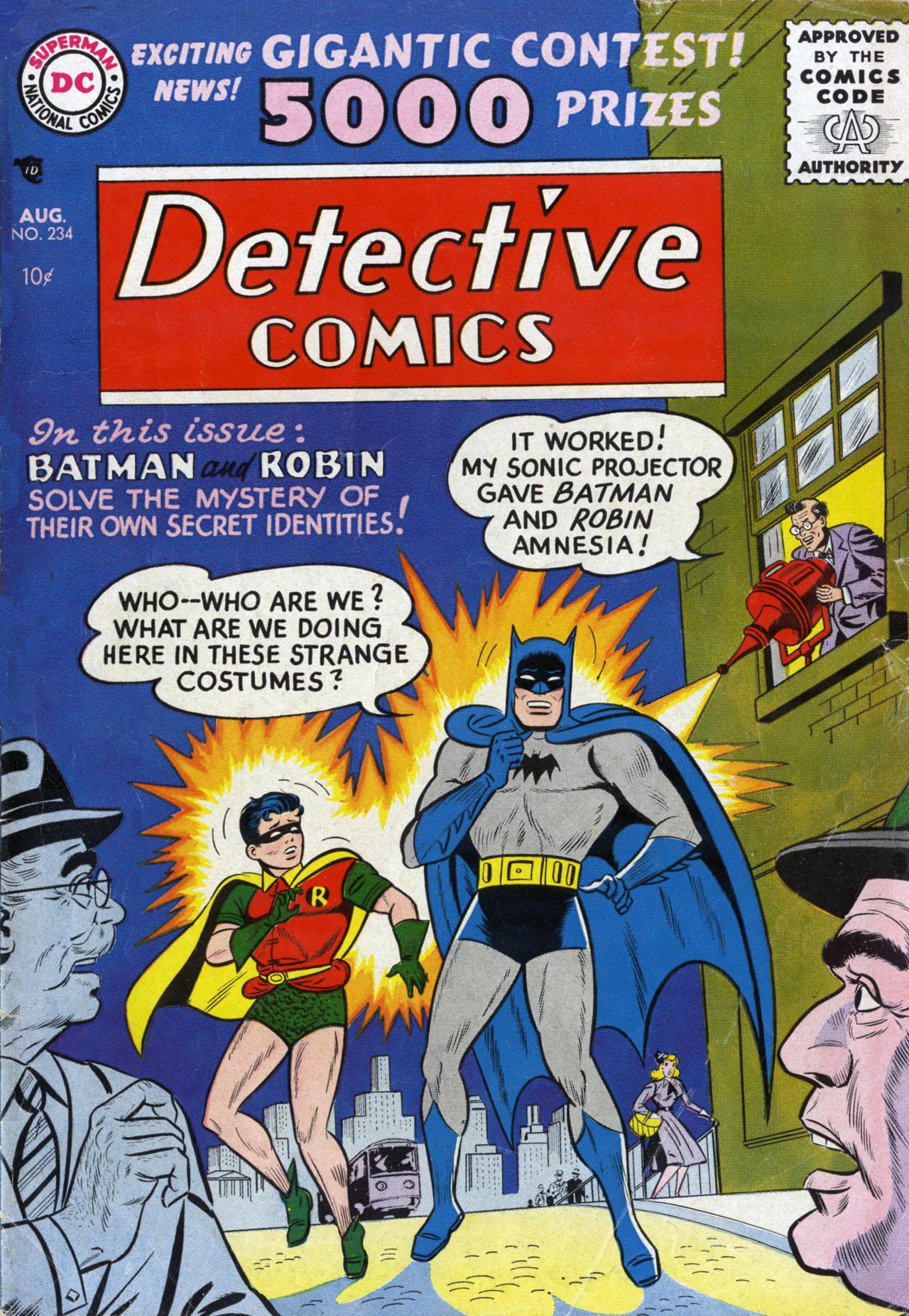 Detective Comics (1937) 234 Page 0