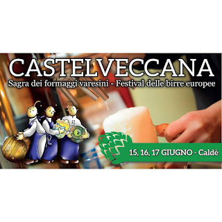 Sagra dei Formaggi Varesini e Festival delle Birre dal 15 al 17 giugno Castelveccana (VA)