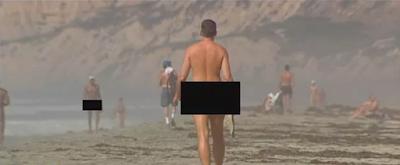 Пляж Блэкс, Калифорния, США (Black's Beach, California, USA) for nude