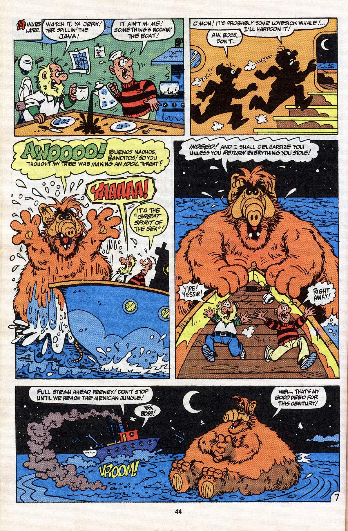 Read online ALF comic -  Issue # _Annual 3 - 40