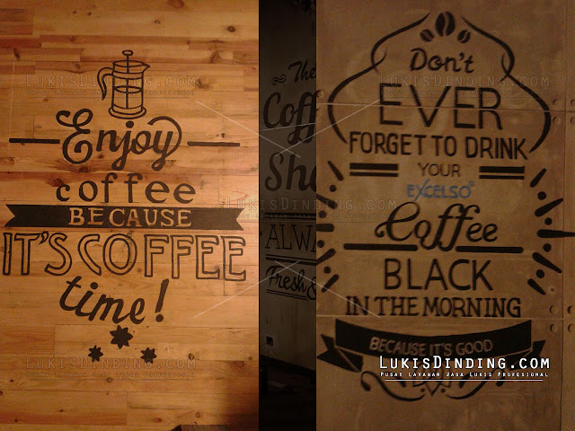 Lukis Dinding Cafe Murah Jakarta