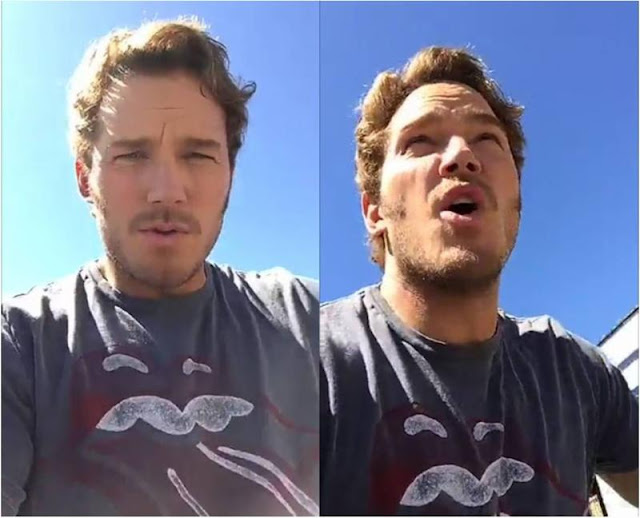 Chris Pratt Wearing Bravado