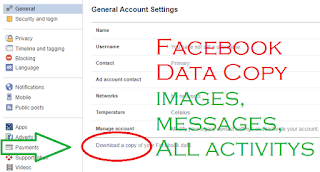 Recover Facebook Deleted and Spam Messages