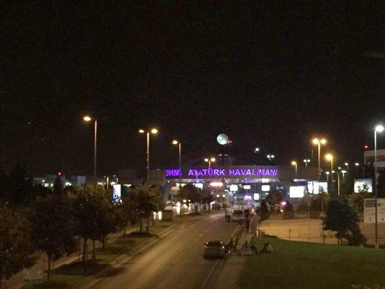Ataturk em Istambul, Turquia