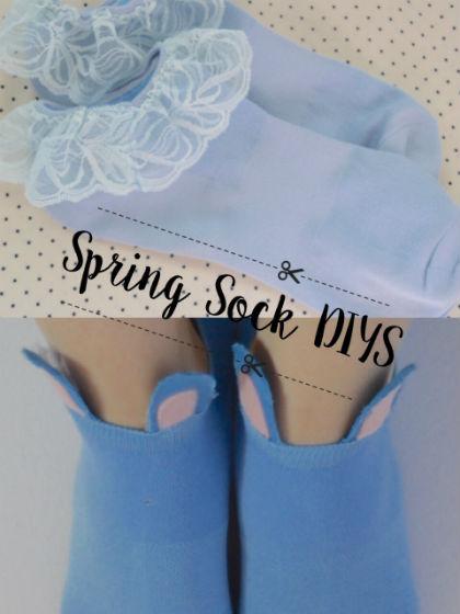 Spring Sock DIYs