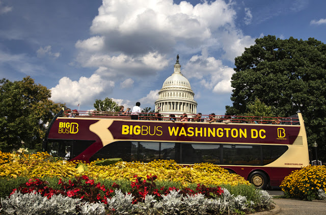 Passeio de ônibus turístico em Washington: Big Bus