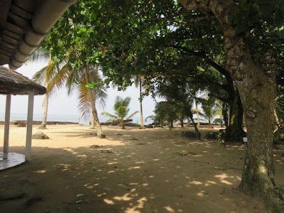 Gabon beach.