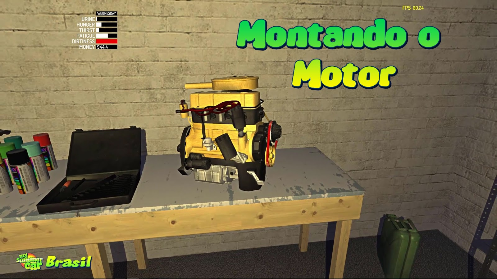 Tutorial Montando O Motor My Summer Car Brasil