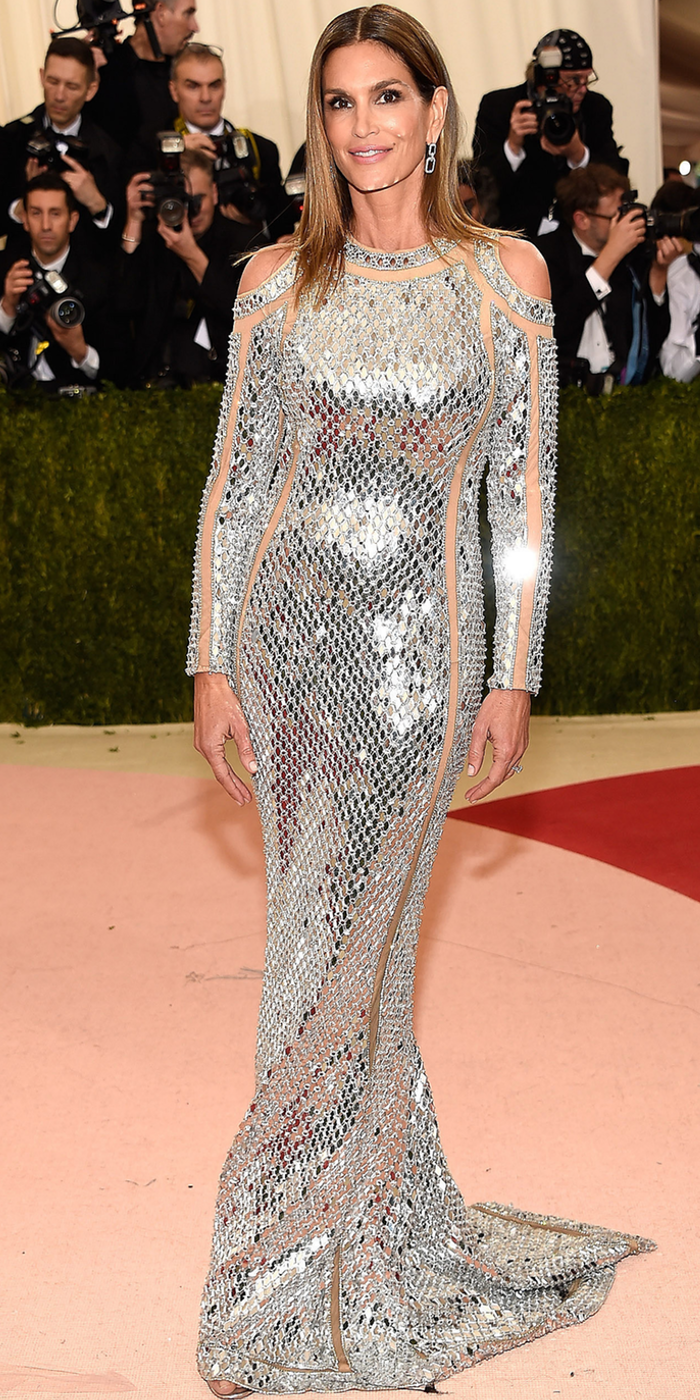 Cindy Crawford 2016 MET Gala