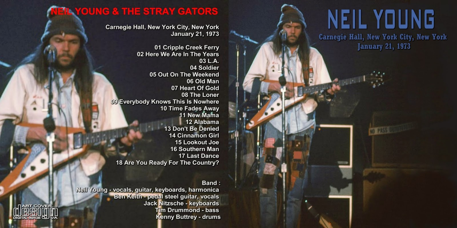 PLUMDUSTY'S PAGE: Neil Young 1973-01-21 Carnegie Hall, New ...