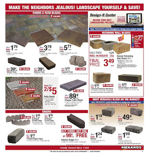 Menards Weekly Sale Ad September 15 - 21, 2019 and 9/22/19