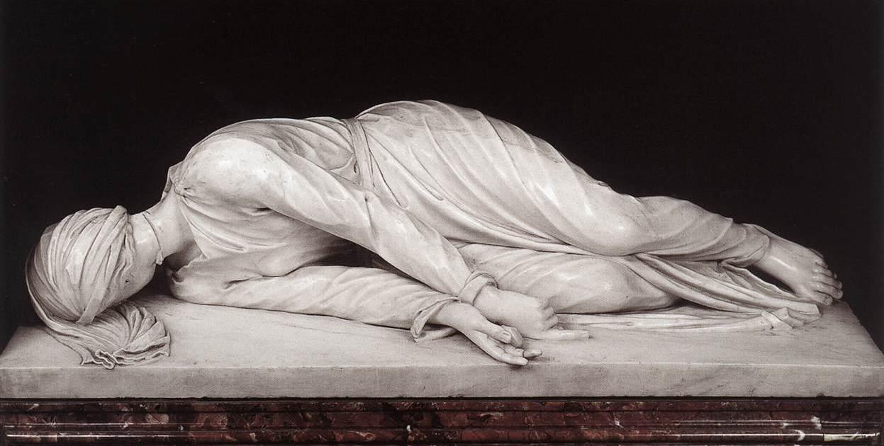 Francisco Ferrer Lerín: El martirio de Santa Cecilia de Stefano Maderno