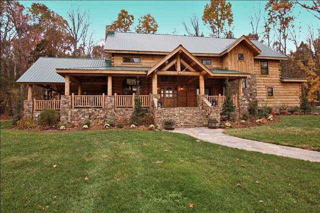 Casas de madera natural tronco macizo - Casas de madera natural ...