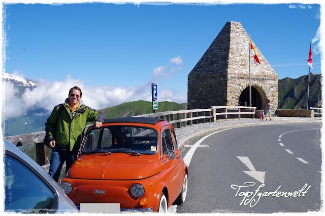 Fuscher Törl | Fiat 500 | Oldtimer | Großglockner - Blog Topfgartenwelt
