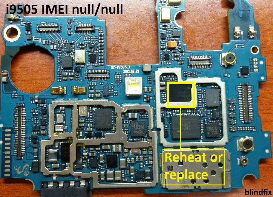 How to repair Unknown baseband or imei null i9505(Hardware
