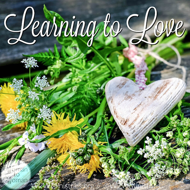 Learning to love is a constant lesson. It's easy to love my kids and my husband, my friends and my family. But even the people I find easy to love, I should constantly be looking for ways to love them better. #love #family #relationships #inspiration #encouragement