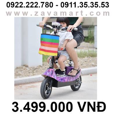 Đặc điểm của xe điện mini Scooter sử dụng ắc quy