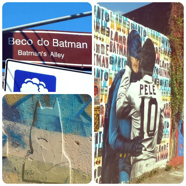 Beco do Batman, Vila Mariana, São Paulo