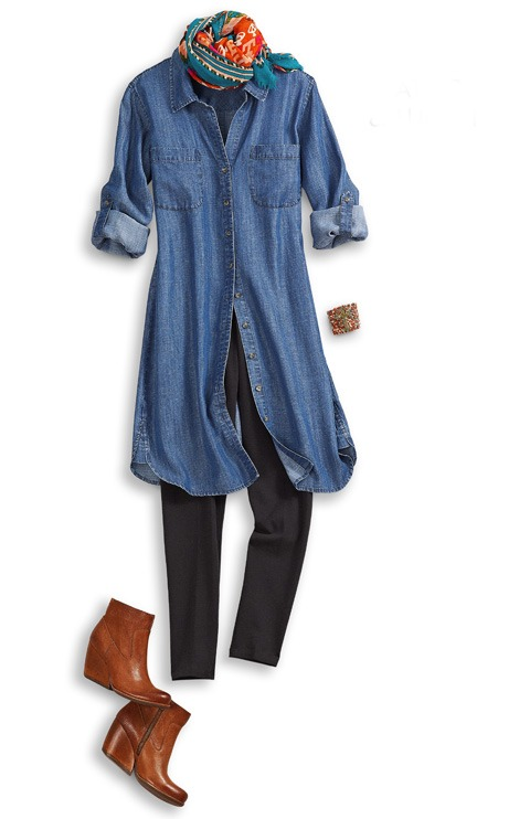 Becolorful Style Denim Your Transitioning Staple For Fall
