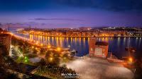 Panoramica del Puente Colgante