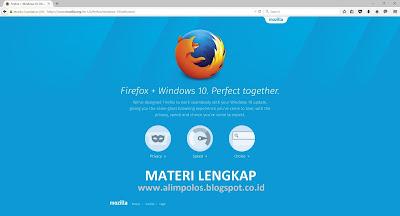 Download Mozilla Firefox 50.0.2 Terbaru Offline Gratis