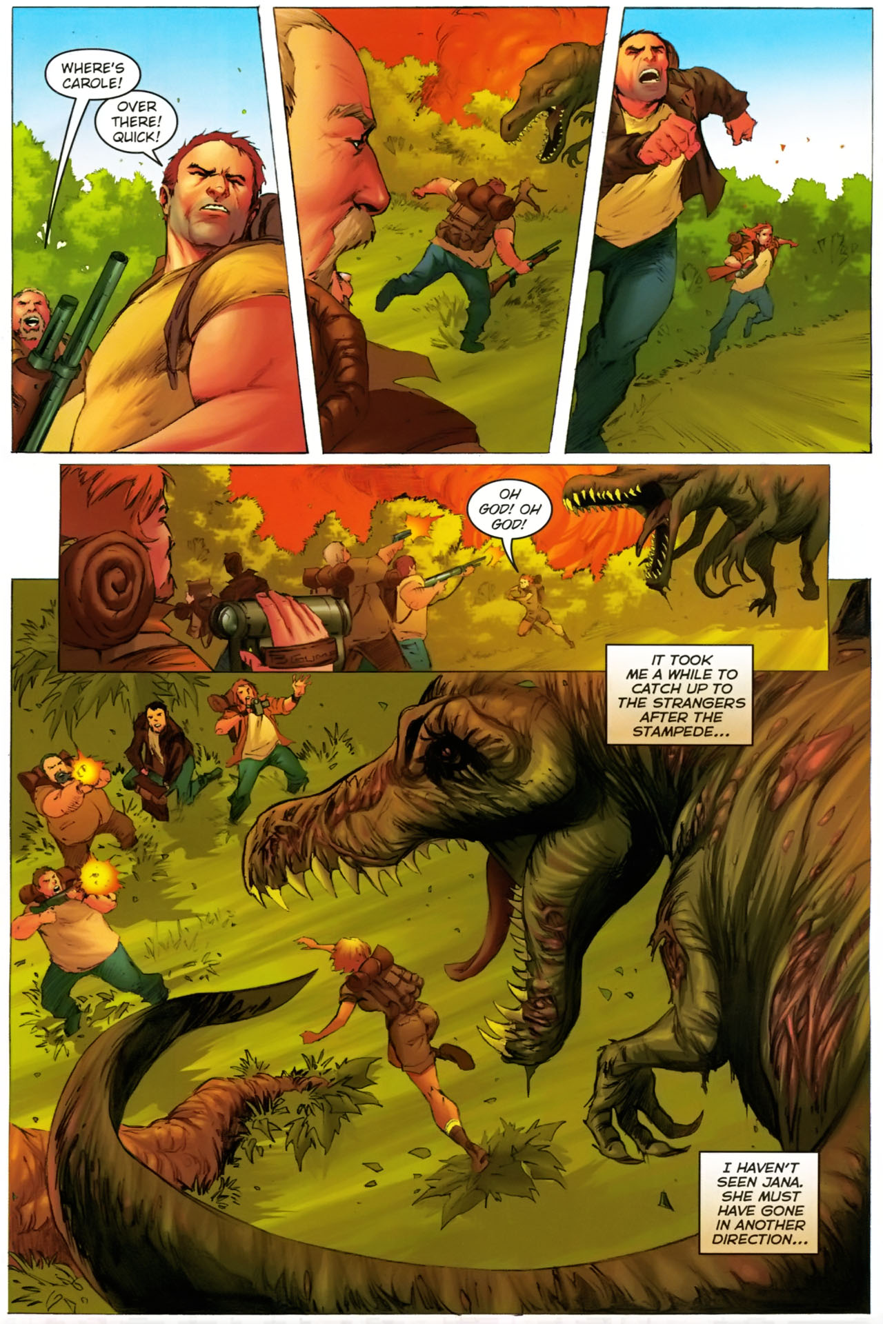 Read online Jungle Girl comic -  Issue #2 - 16