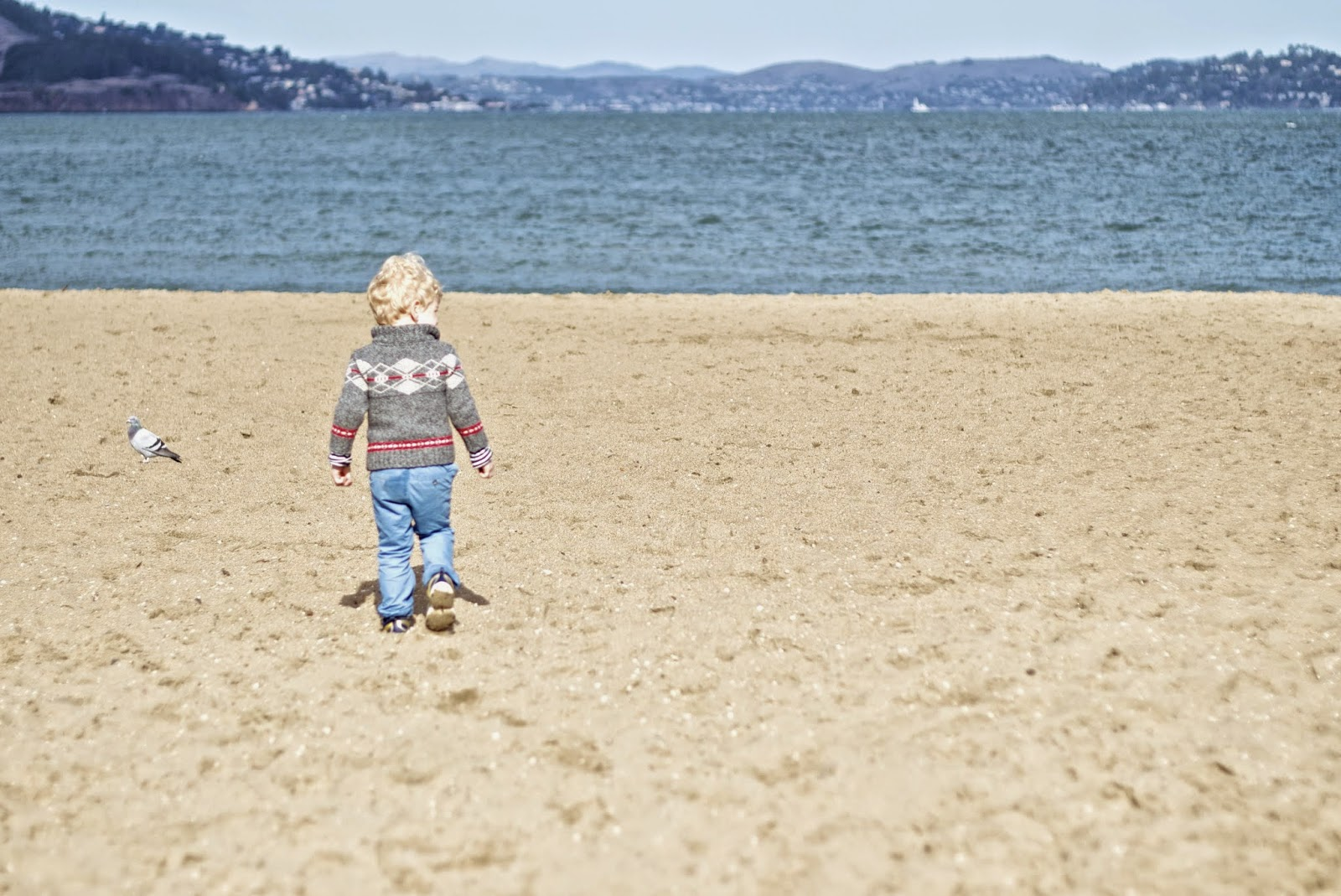 Beaches to play on near the golden gate bridge