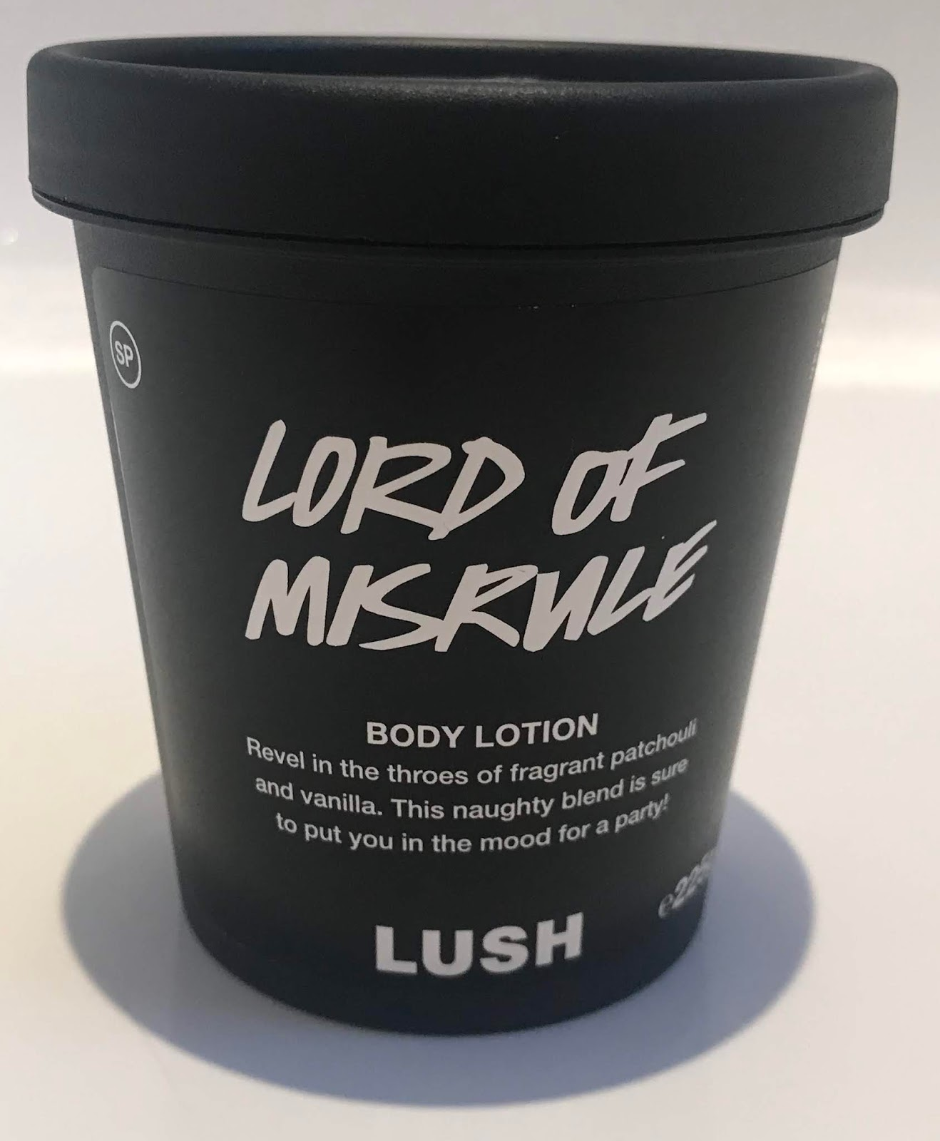 All Things Lush UK Lord Misrule Body Lotion
