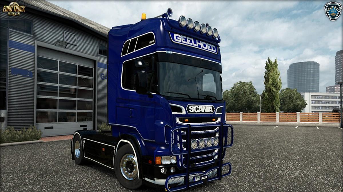 Scania RJL Geelhoed Kit