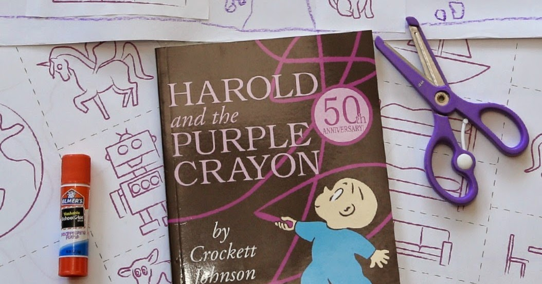 The Purple Crayon Extension Activity Still Playing School
