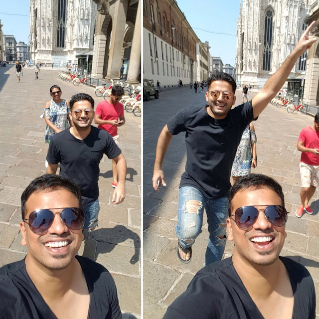 Tollywood Celebrities enjoyed holiday trip in Europe