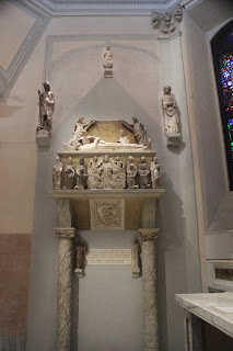 The monumental tomb of Azzone Visconti