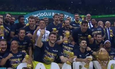 Avrupa basketbol ligleri şampiyonlar