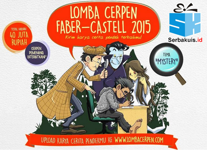 Lomba Cerpen Faber Castell 2015 Berhadiah 40 Juta