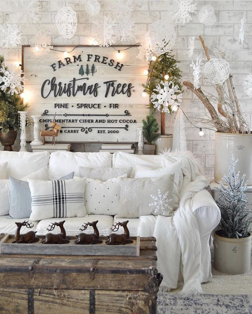 Decorating for Christmas – The Rustic Lover