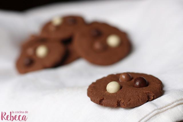 Galletas de chocolate fáciles