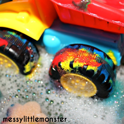 paint and water fun for kids
