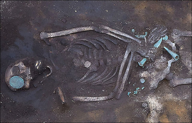 3,000 year old warrior's grave discovered in Siberia