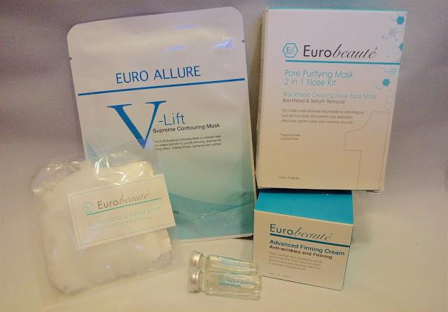 >> 週末 Home Salon 肌膚保養*Eurobeauté 家用美療方案