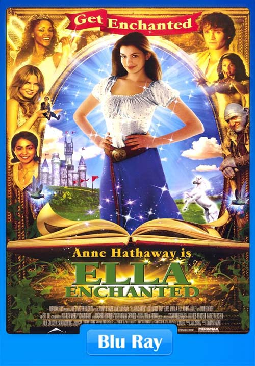 Ella Enchanted 2004 720p BluRay x264 | 480p 300MB | 100MB HEVC Poster