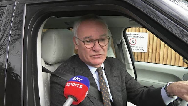 Claudio Ranieri Roma Head Coach