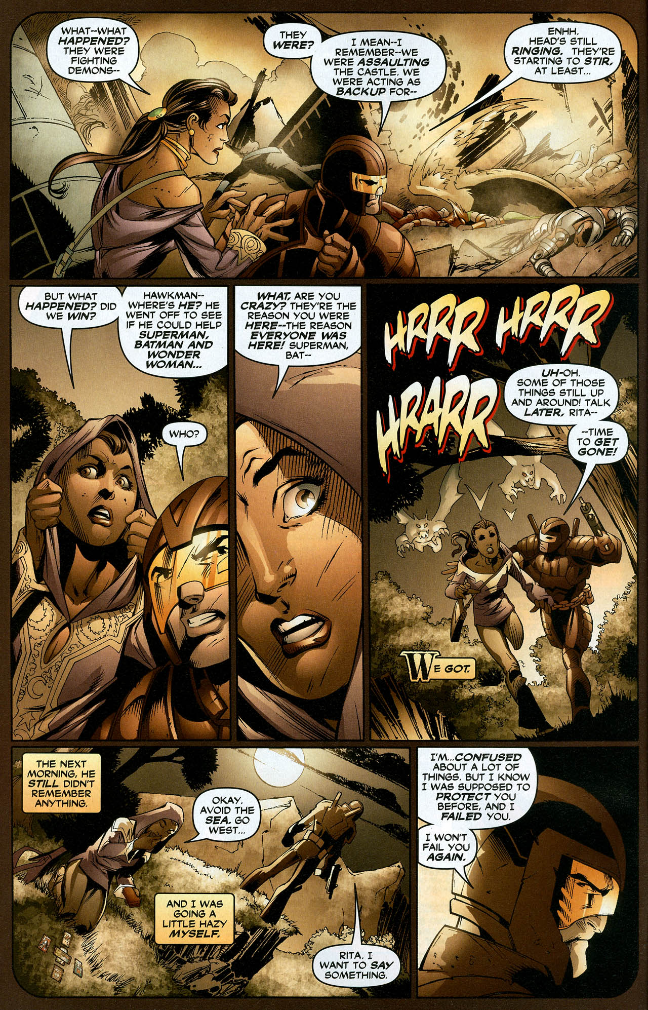 Read online Trinity (2008) comic -  Issue #19 - 4