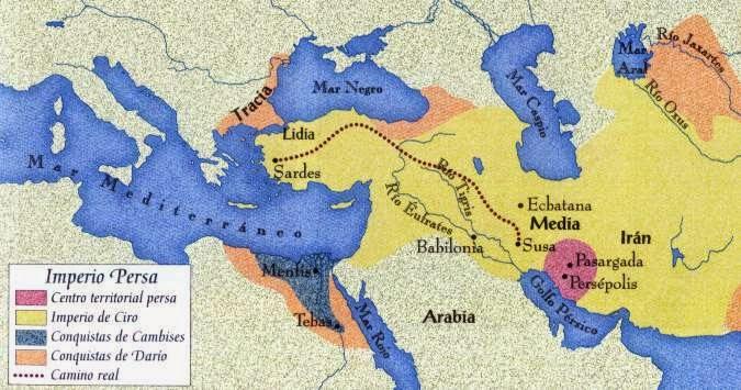 Cuaderno de Historia, J. Ossorio: El Imperio Persa I