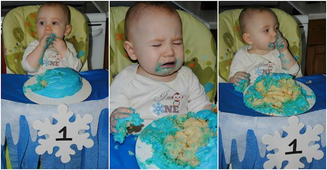 Used Fake Cake Smash