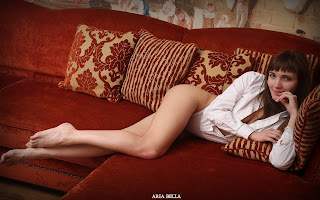 裸体艺术 - Sexy Naked Girl Aria Bella