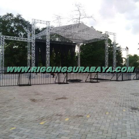 Jasa Pembuatan Tenda Pesta Panggung Rigging