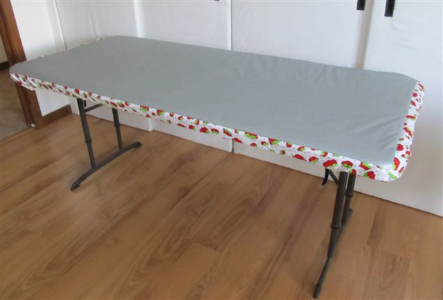 Creative Quilting Ironing Pad For A Banquet Table