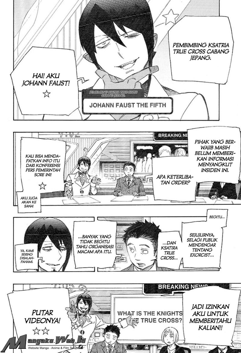 Ao no Exorcist Chapter 93-30
