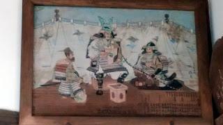 十二天神社 社殿の絵2