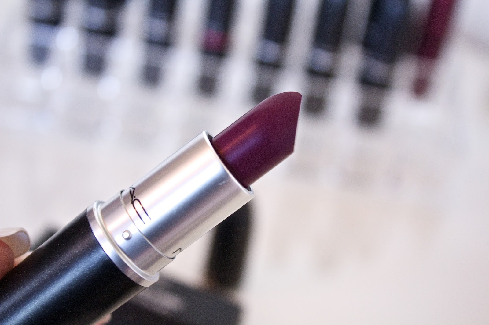 MAC Rebel Lipstick review